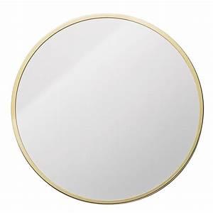 Spiegel Rund 70 Cm : metalframe spegel rund guld bloomingville bloomingville ~ Bigdaddyawards.com Haus und Dekorationen