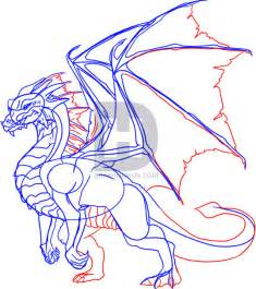 How to Draw Dragons Step by Step