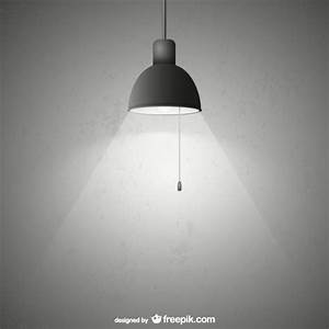 Lamp with grunge texture vector free download for Lamp light photoshop