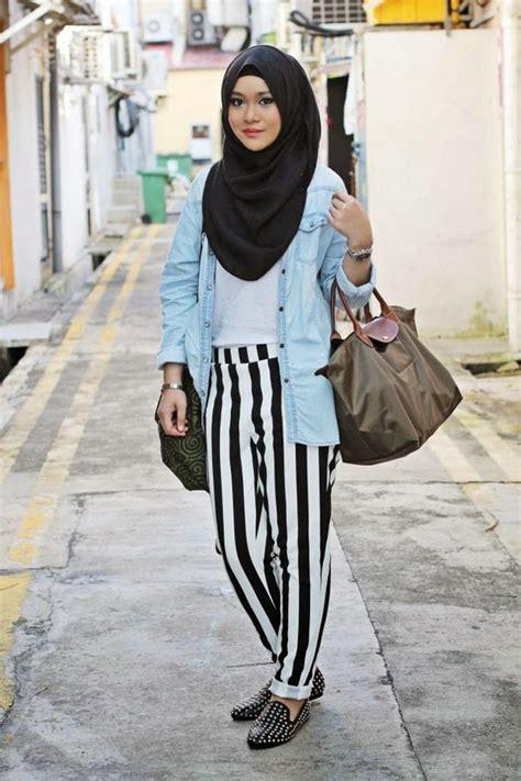 hijab fashion   casual style hijabiworld