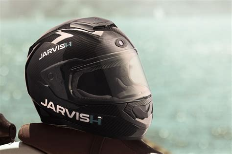 Jarvish's Smart Motorcycle Helmets Will Offer Alexa And