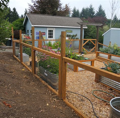 pictures of garden fences new garden fencing blueberry hill crafting