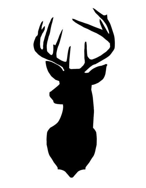 hd deer head silhouette image deer head silhouette