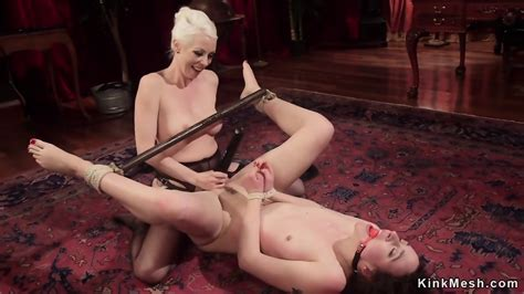 Tied Up Lesbian Student Anal Fucked Eporner