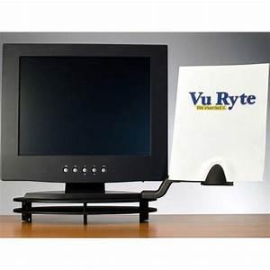 vuryte vur 8877 ergonomic document holder for flat panel With document holder for flat screen monitor