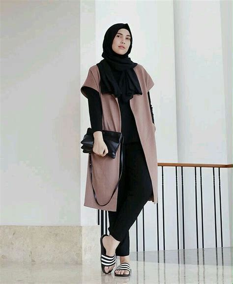 fashion hijab anak muda jaman  tutorial hijab