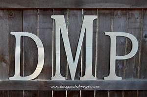 24 inch wooden monogram 3 block style letters unfinished With 3 inch unfinished wood letters