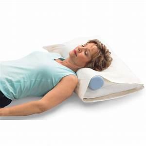 The original mckenzie cervical roll neck support optp for Back and neck support for bed