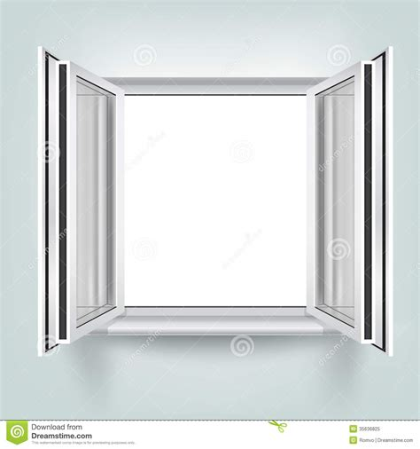free a frame house plans open window royalty free stock photo image 35636825