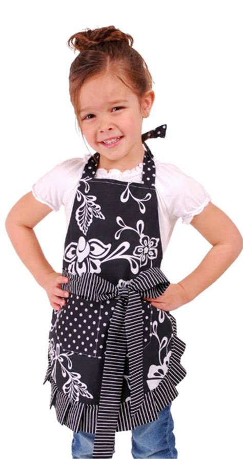 Girly Kitchen Aprons by Flirty Aprons S Original Aqua Damask