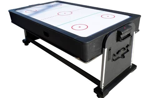 pool table air hockey ping pong combo foot club pro air hockey table by berner billiards w ping