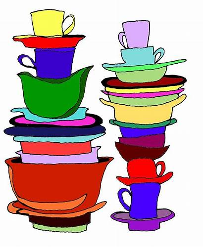 Dishes Dirty Clipart Clean March Cleaning Cliparts