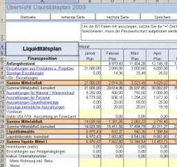 rs liquiditaetsplanung xl excel tool