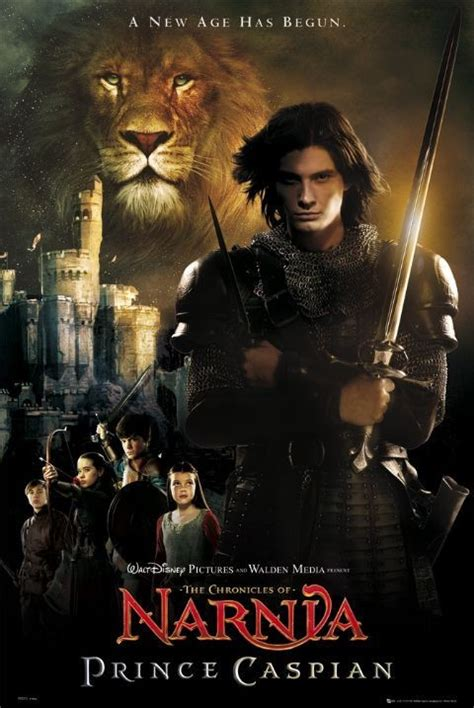 chronicles  narnia prince caspian poster sold