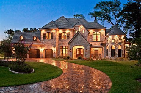 country house country house plans bringing european accent into