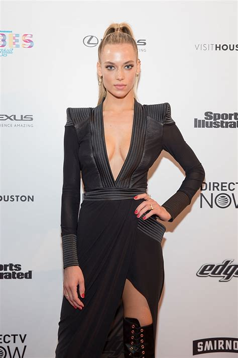 Hannah Ferguson At Vibes By Si Swimsuit 2017 Launch