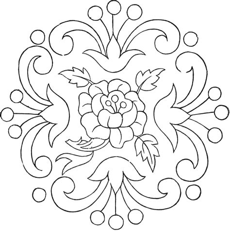 patterns for applique vintage floral embroidery pattern the graphics