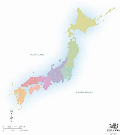 Japan Map Maps Sales Tools