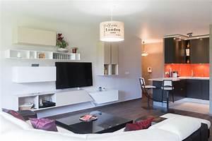 cuisine sejour salon cuisine en image With meuble de salle a manger avec amenagement petite cuisine