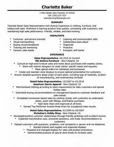 best rep retail sales resume example livecareer With customer service sales resume