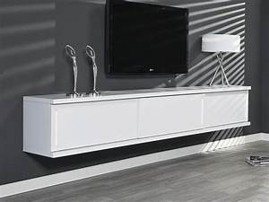 Tv Schrank Mit Schiebetüren : sideboard tv schrank h ngeschrank wandh ngend 240cm wei 3 schiebet ren angebot ebay ~ Markanthonyermac.com Haus und Dekorationen