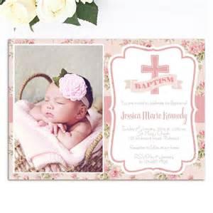 Free Baptism Invitation Cards Template