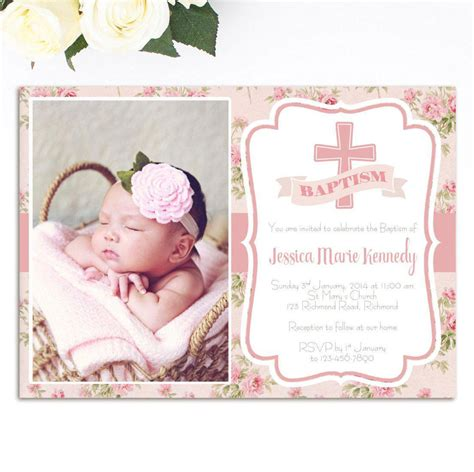 baptism card template pretty baptism invitation template free photos resume