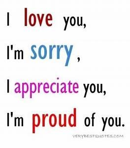 Im Sorry Quotes. QuotesGram