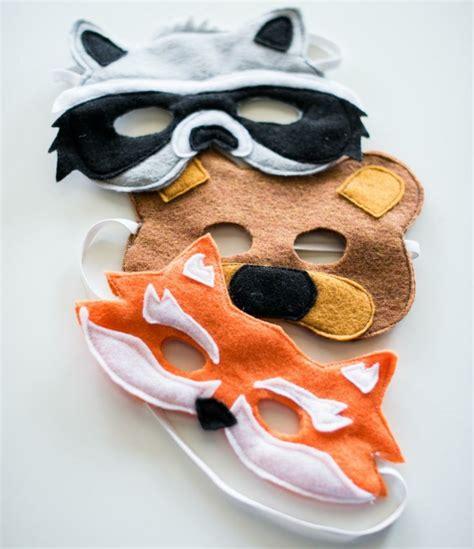 faschingsmasken basteln  wird der karneval richtig lustig