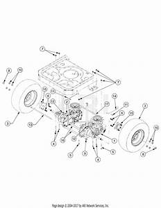 Troy Bilt 17aa5aag766 Rzt 42  2006  Parts Diagram For Drive Rzt42