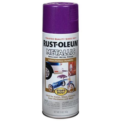 Shop Rustoleum Stops Rust 11 Oz Deep Purple Spray Paint
