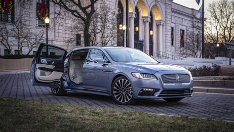 lincoln continental coach door edition pictures