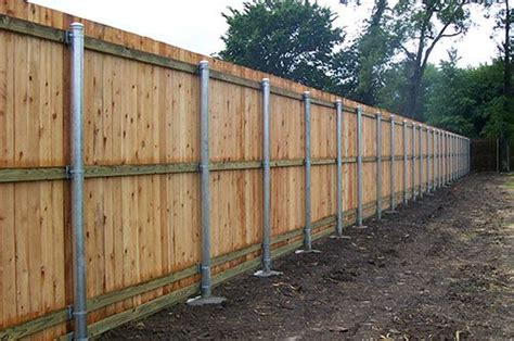 Wooden Fence Installation And