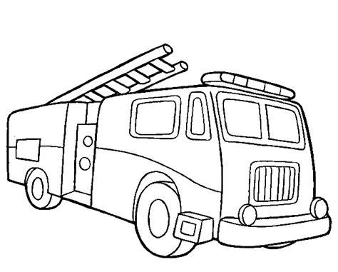 Kleurplaat Brandweer Peuters by Vervoer Kleurplaten Brandweer