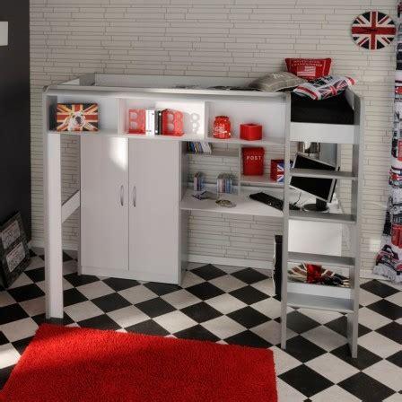 lit mezzanine bureau ado lit mezzanine 2 places avec bureau 8 lit ado lit et