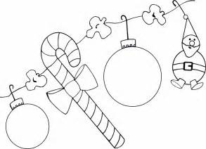christmas decorations to color az coloring pages
