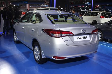 Toyota Yaris Sedan To Take On Honda City. Revealed At Auto