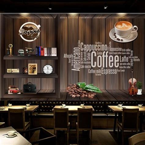 Shop for framed neon coffee cup sign by unknown. Coffee shop Wallpaper Coffee Club Cafe Wall Murals IDCWP-CF-000001 - IDecoRoom