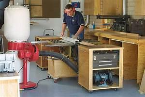 Roll-Away Workshop Startwoodworking com