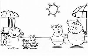 Imágenes Peppa Pig para colorear, dibujar e imprimir Imágenes Totales