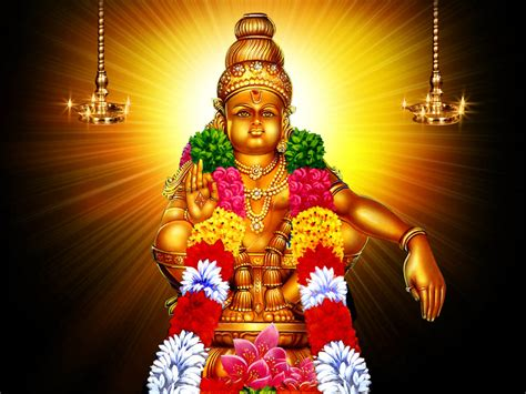 Lord Ayyappa  Hindu God Wallpapers Free Download