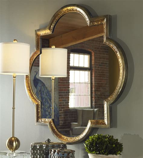 Uttermost Mirrors by Uttermost Lourosa Gold Mirror Uttermost 12862 At