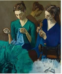 Artist Raphael Soyer Paintings