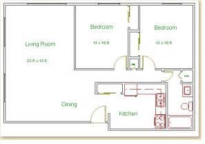 bedroom floorplan hilldale towers floor plans