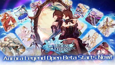 aurora legend launches   app store  google play