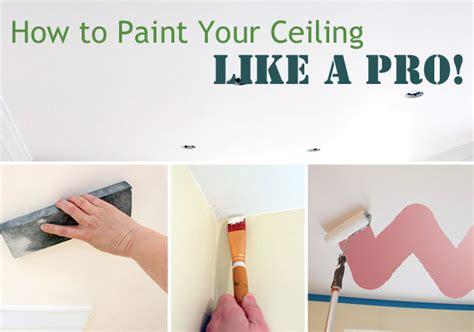 Zimmerdecke Streichen Tipps by Painting Ceilings Like A Pro Pretty Handy