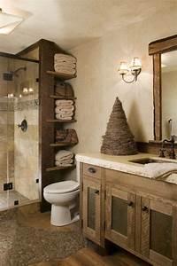 Holz Im Badezimmer : die besten 25 badezimmer landhausstil ideen auf pinterest ~ Lizthompson.info Haus und Dekorationen