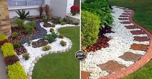 Decorer son jardin avec galets et gravillons voici 20 for Salle de bain design avec décoration noel extérieur jardin