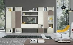 Deco Meuble Design : armoire de rangement pour un s jour moderne ~ Teatrodelosmanantiales.com Idées de Décoration
