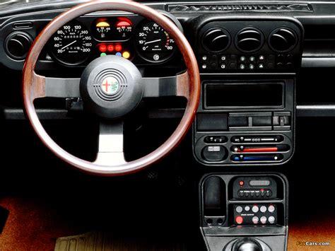 1983 Alfa Romeo Alfa 6 1983 Alfa Romeo 33 15